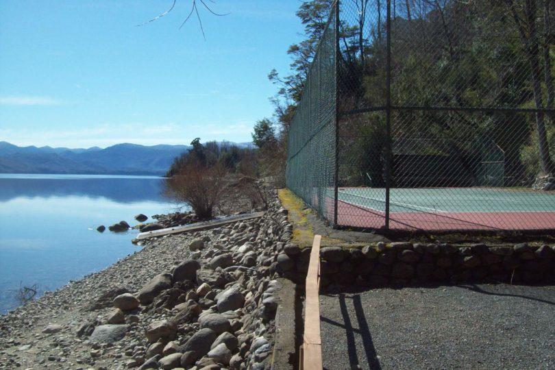 Las casitas de Piñera en el lago Caburgua