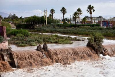 Lluvia en Calama igualó registros de 1972