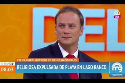 VIDEO |Ministro Ward sorprende con respuesta al ser consultado sobre el troleo al presidente de Gasco por Lago Ranco