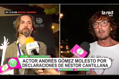 """""""Hay otros que no tenemos trabajo"""": actor Andrés Gómez cuestiona frase de Néstor Cantillana sobre no hacer más teleseries"""