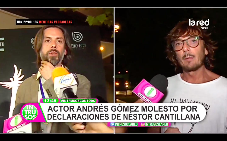 Actor cuestiona a Cantillana sobre no hacer más teleseries