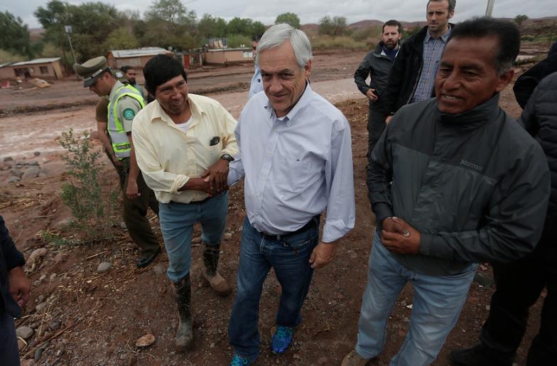 Ayuda humanitaria que Chile le entregará a Venezuela saldrá de la Onemi y Cenabast