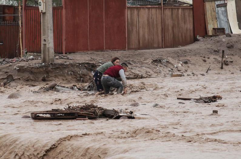 Luvias en el norte han dejado 8 fallecidos y más de 2.400 viviendas dañadas