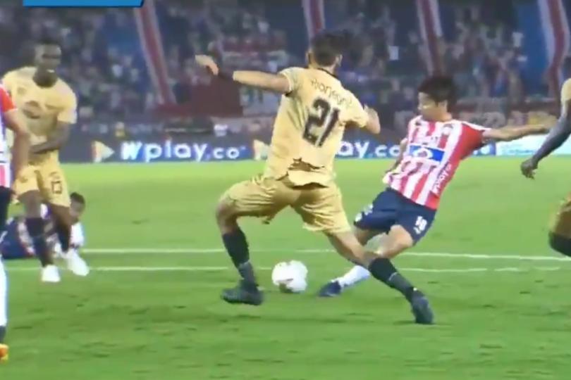 """VIDEO   El gol con que Matías Fernández debutó en Colombia: """"Anotar no importa si no podemos ganar"""""""