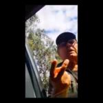 """""""¡Me importa un coco! (…) el intendente tomará cartas en el asunto"""": graban reacción del primer multado por negar acceso a playa"""