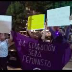 VIDEO | Protesta en contra de gestión de Virginia Reginato en la Gala del Festival