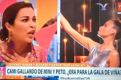 VIDEO | Marlen Olivari se anota con el comentario más desafortunado de Viña 2019 sobre Camila Gallardo y episodio de acoso
