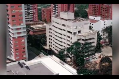 VIDEO | Así fue la demolición del reconocido edificio de Pablo Escobar