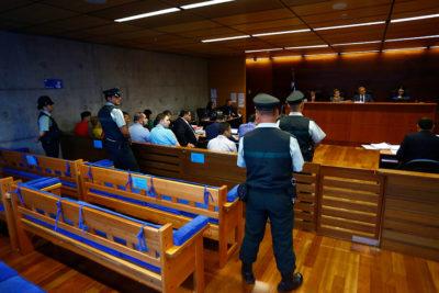 Juicio de falsos allanamientos de ex carabineros tiene cien escuchas telefónicas