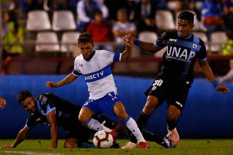 Diego Buonanotte se perderá el debut de la UC en la Libertadores por desgarro