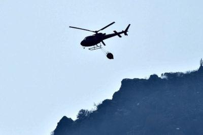 Conaf confirmó que alcalde de Galvarino usó helicóptero sin autorización