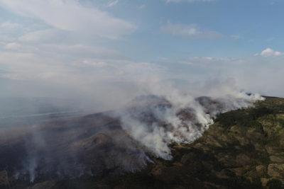 Aysén: autoridades informan que incendio está contenido y sin avance