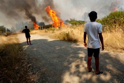 Cuatro menores reconocen haber quemado pastizal en Coronel