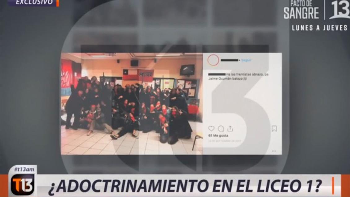 """Corte Suprema califica de """"reportaje serio"""" nota de C13 sobre adoctrinamiento en L1"""