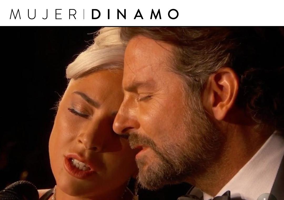 """""""Mira a Bradley Cooper y Lady Gaga cantando en el Oscar"""""""