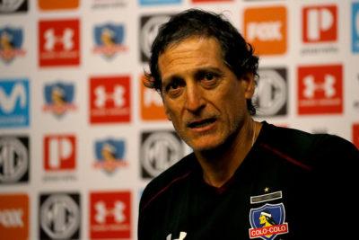 """Mario Salas: """"Quedé súper conforme con el plantel de Colo Colo"""""""