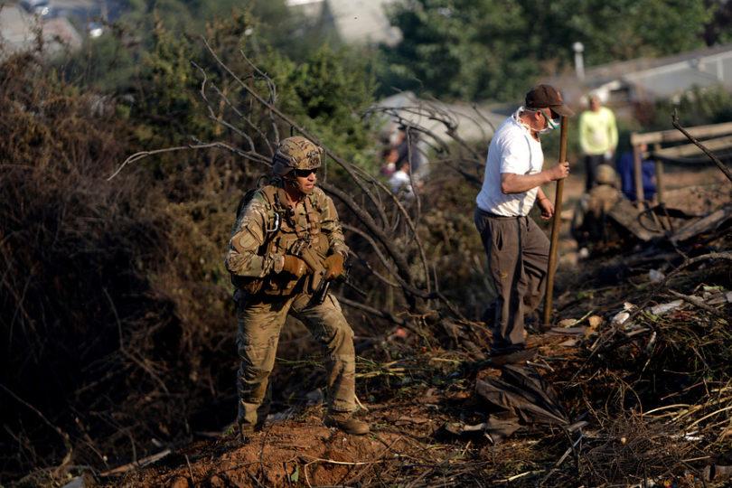 Patrullas militares vigilarán provincia de Arauco tras ataque a avión de Conaf