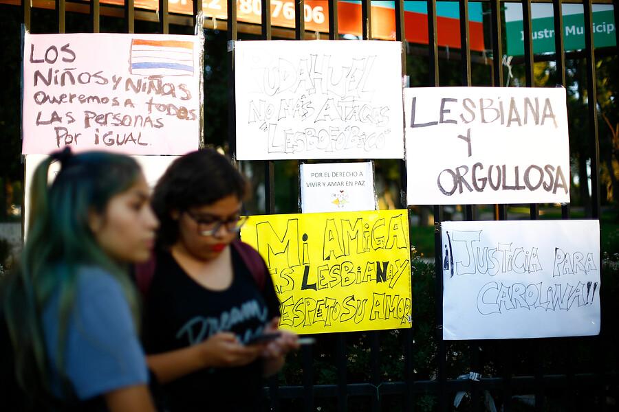 Movilh: campaña para encontrar a atacantes de Carolina Torres