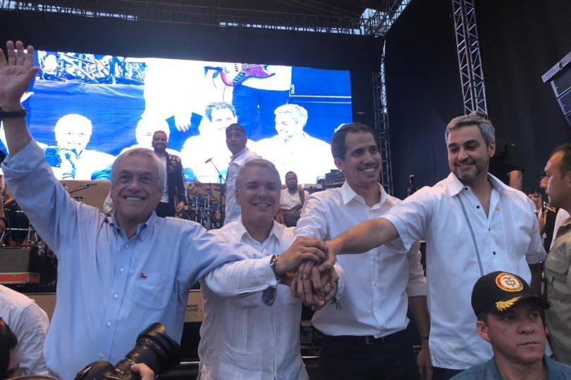 Sebastián Piñera se reunió de manera sorpresiva con Guaidó en Cúcuta