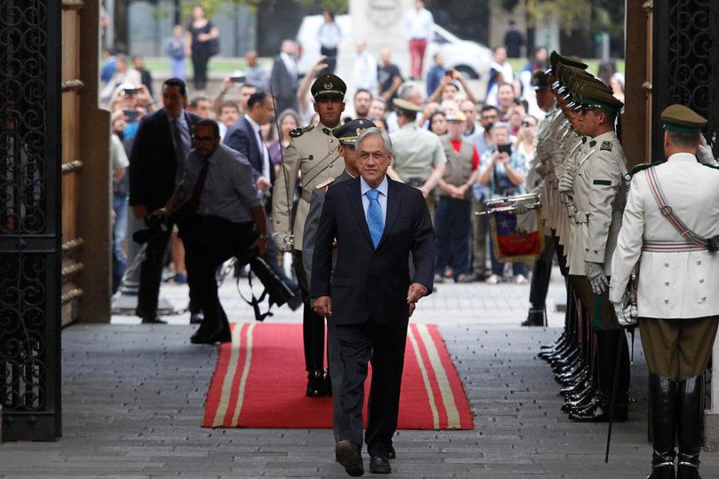 Presidente Piñera lidera comité político en La Moneda y este martes retoma sus vacaciones
