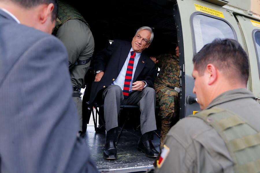 """""""Piñera inicia visita a La Araucanía y Los Lagos antes de ir a Cúcuta"""""""