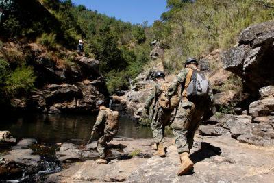 Ejército busca a cabo de la institución que lleva 18 días desaparecido en Radal Siete Tazas