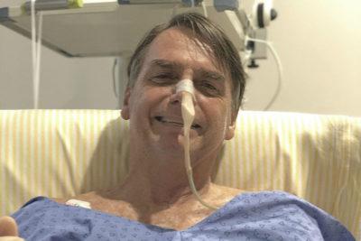 El mensaje de Bolsonaro en medio de posible diagnóstico de neuomonía tras operación