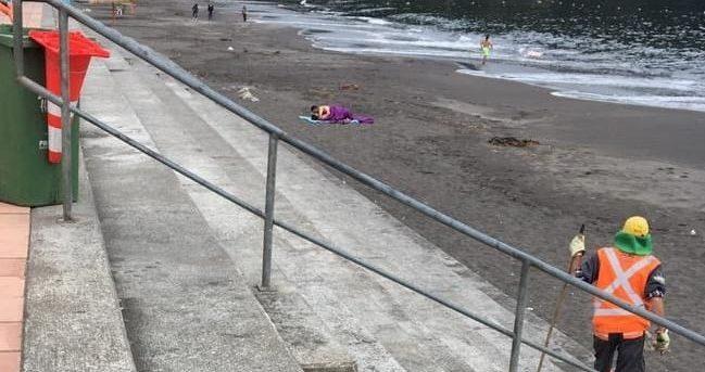 """Capitanía de Puerto de San Vicente por video de pareja teniendo sexo en la playa: """"No es un delito"""""""