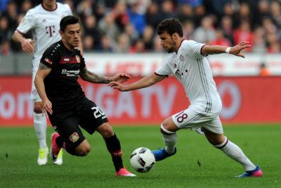 """Bayer Leverkusen: """"Estamos muy satisfechos con lo que rinde Charles Aránguiz, vamos a renovarle"""""""