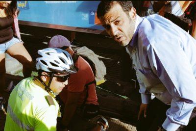 Alcalde de Estación Central participa de detención ciudadana y publica imagen del supuesto delincuente