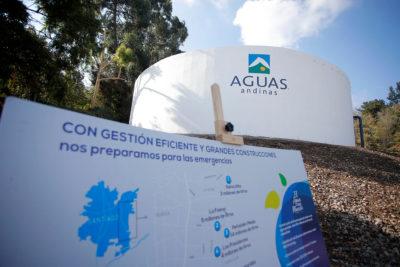Aguas Andinas cancela alerta temprana preventiva