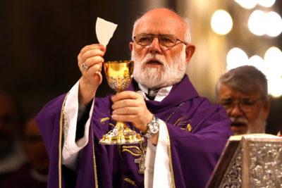 Este lunes parte a Roma el Obispo Celestino Aós para reunirse con el Papa