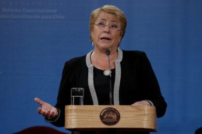 VIDEO |8M: Bachelet rinde homenaje a las mujeres y niñas que han transformado la sociedad