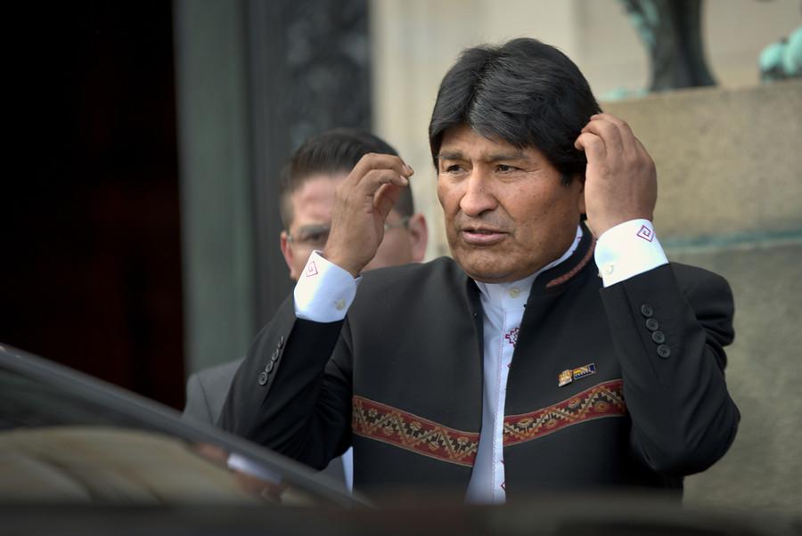 """""""Evo Morales: Bolivia busca"""