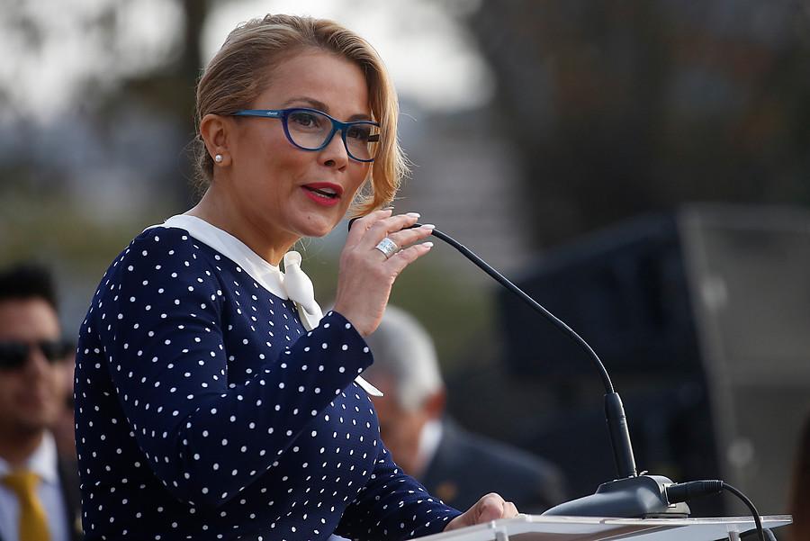 """""""VIDEO   Bochornoso concejo en Maipú terminó en la PDI y con Cathy Barriga furiosa:"""