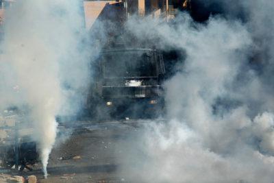 Carabineros ha gastado $2.300 millones en bombas lacrimógenas en los últimos 8 años