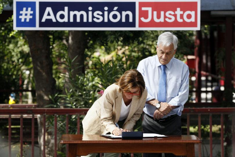"""Piñera envía carta a colegios: afirma que seguirá defendiendo """"el mérito y el derecho de los padres a elegir"""""""