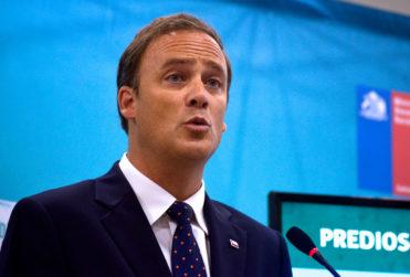 FOTO | A página completa: el aviso publicitario pagado por la CChC para el ministro Felipe Ward