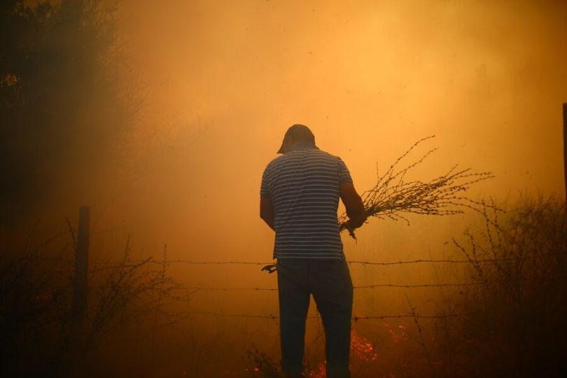 Incendios forestales obligan a trasladar pacientes en hospital de Lautaro