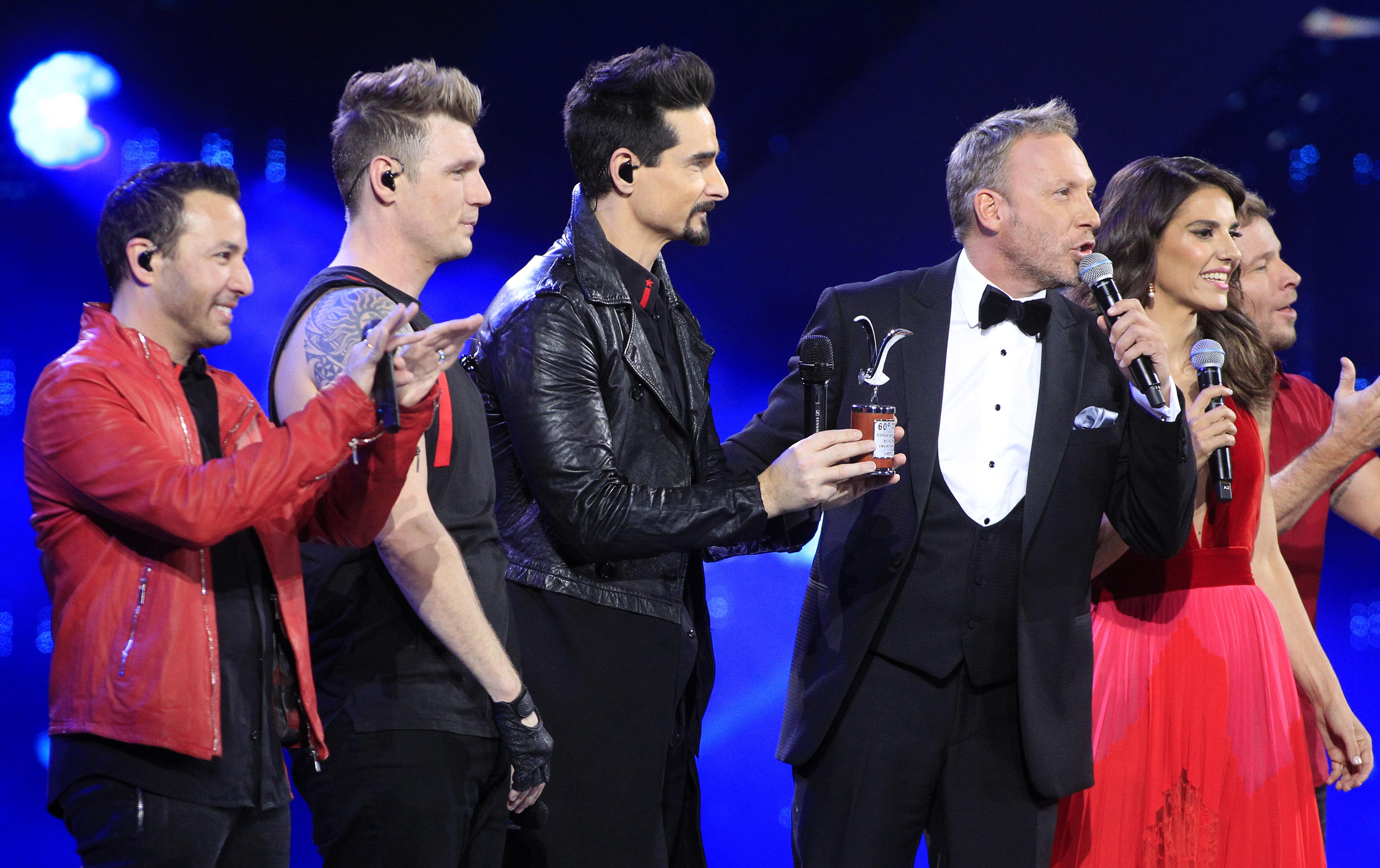 """""""Nos faltó fluidez"""" y otras frases de Martín Cárcamo para explicar su inglés con los Backstreet Boys en Viña 2019"""
