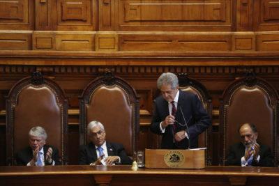 Presidente de la Suprema solicitó revisar facultades del Tribunal Constitucional