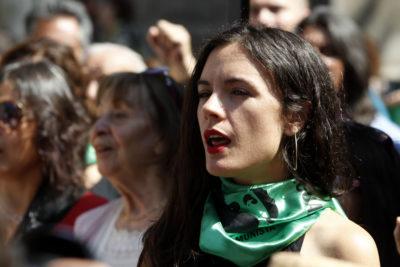 Camila Vallejo enumera todos los episodios de Van Rysselberghe antes de que se declarara feminista
