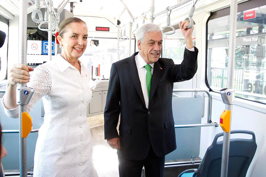 """""""Gloria Hutt por cambio de Transantiago a Red:"""