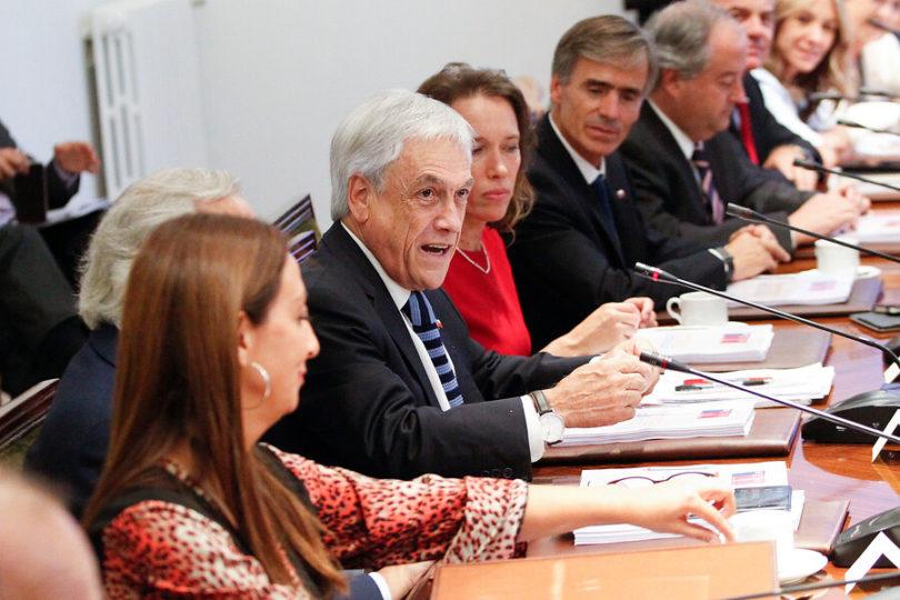 """Piñera en el Consejo de Gabinete: """"El 2018 fue un buen año para Chile"""""""