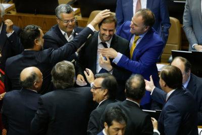 Jaime Bellolio agradeció a quienes lo apoyaron en su breve triunfo por la presidencia de la Cámara