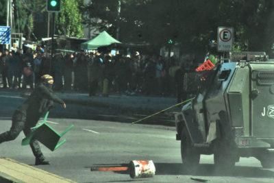 Ratifican fallo que deja sin cautelares a detenidos por marcha mapuche no autorizada en Temuco