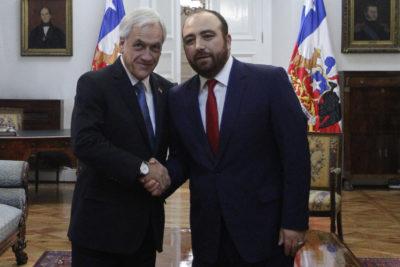 """Fuad Chahín tras reunión con Piñera: """"La DC no está para oponerse a todo"""""""