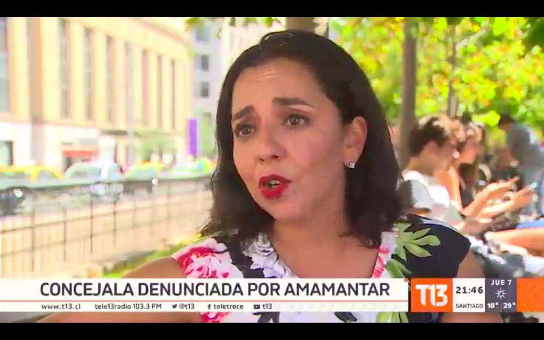 """""""Contraloría revocó dictamen contra concejala de Calama por amamantar a su guagua"""""""
