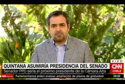 """Jaime Quintana antes de asumir presidencia del Senado: """"El gobierno y la oposición no estuvimos a la altura en 2018"""""""