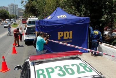 Matan a transeunte con 5 diparos en Maipú